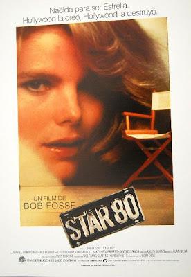 Dorothy Stratten, Star 80, Peter Bogdanovich, Paul Snider, Mariel Hemingway,  Eric Roberts, Bob Fosse