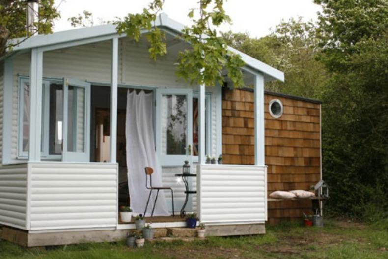 Coastal beach shack