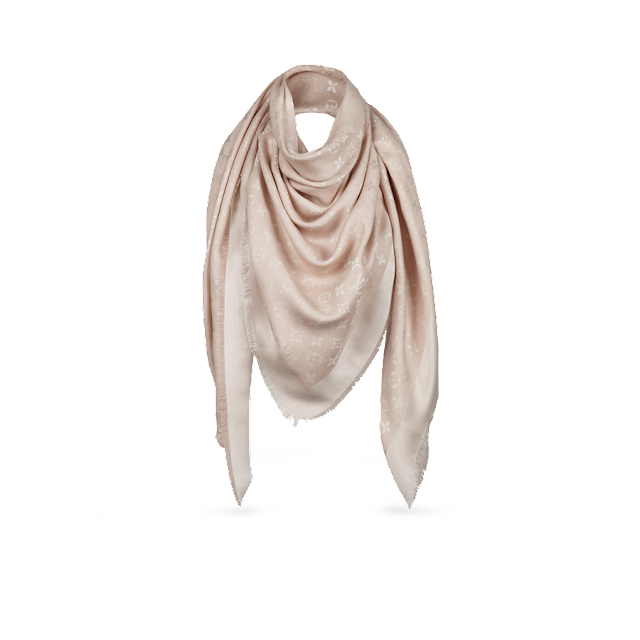 lv shawl style inspiration