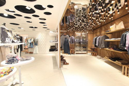 I t hysan one department store design hongkong for Interior design department