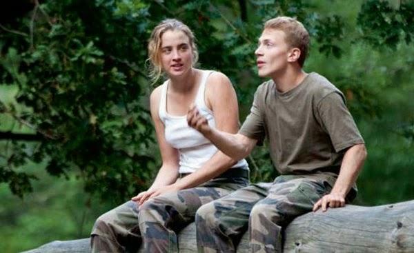 Adèle Haenel et Kévin Azaïs dans Les Combattants, de Thomas Cailley (2014)