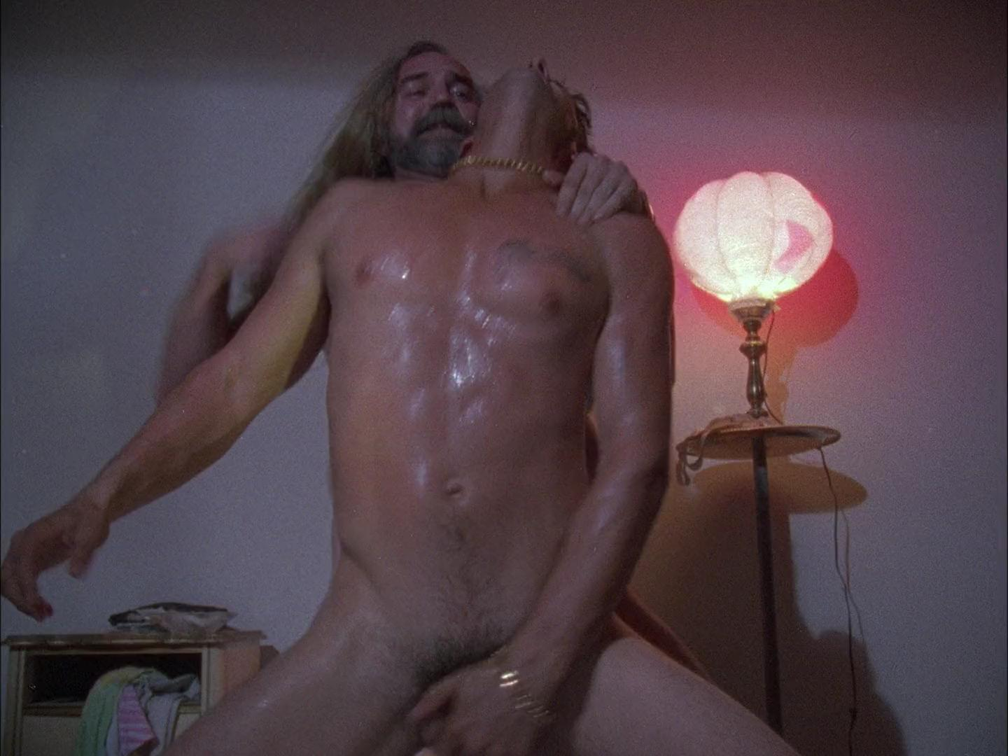 Hustler fully erect