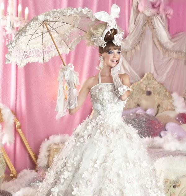 Fashion And Beauty Beautiful Girls Pink Wedding Dresses