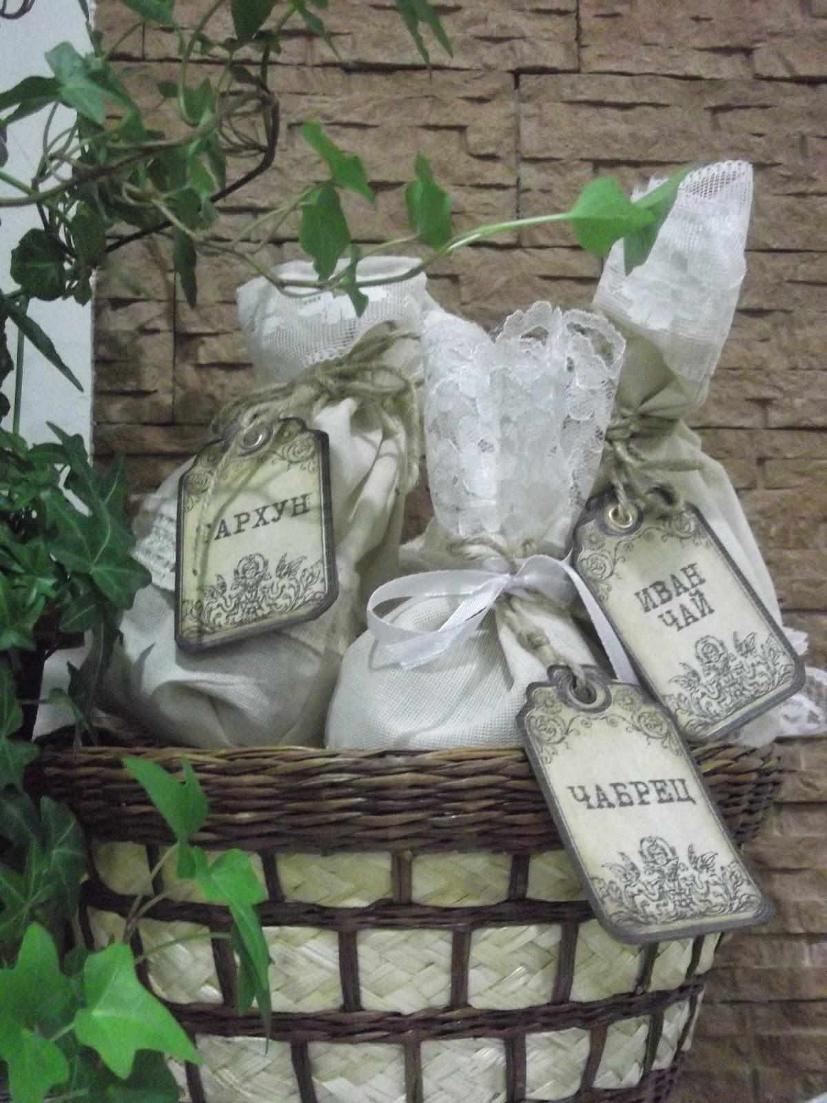 Мешочки для хранения трав своими руками фото