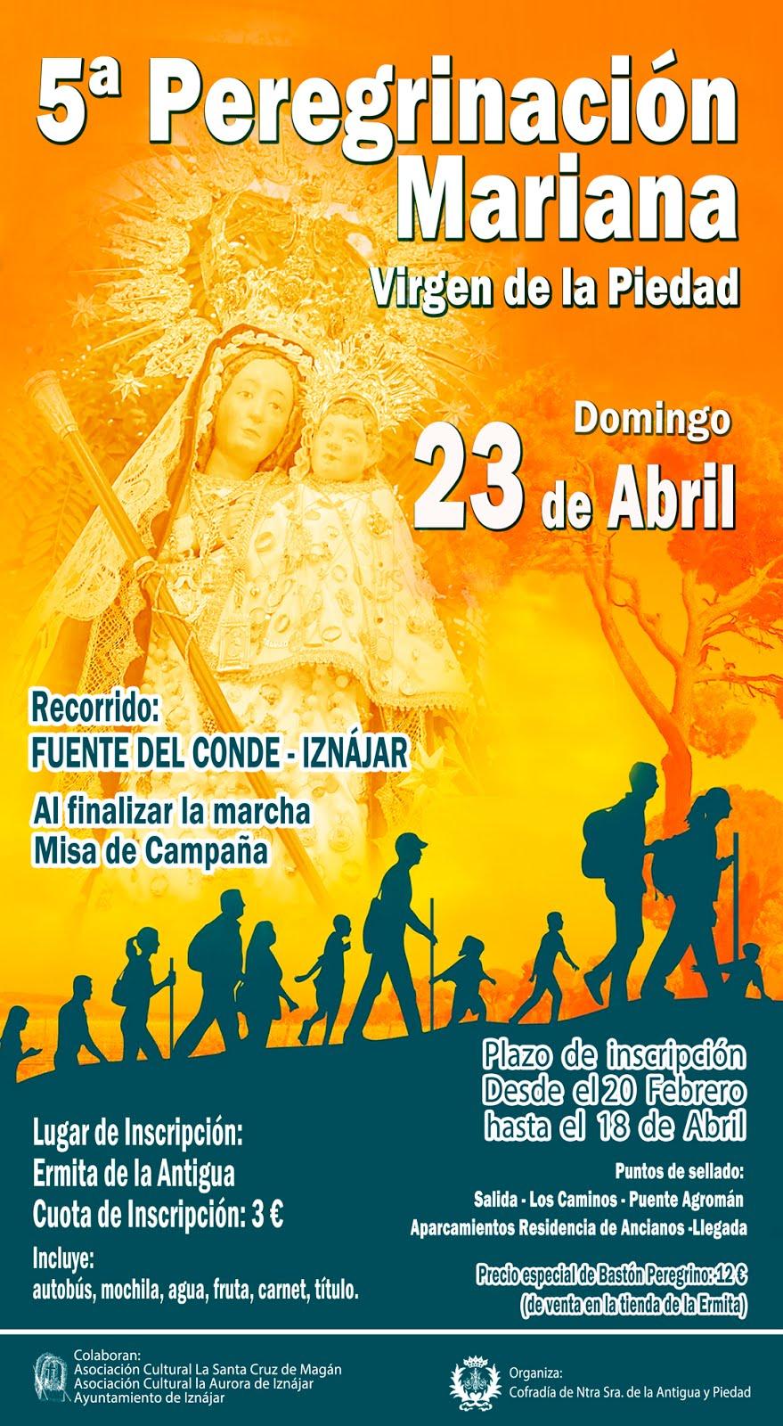 V Peregrinación Mariana Virgen de la  Piedad 2017