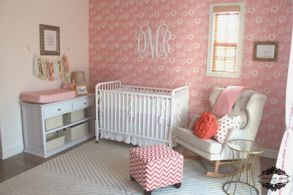 Fotos De Dormitorios Para Beb 233 En Color Rosa Ideas Para