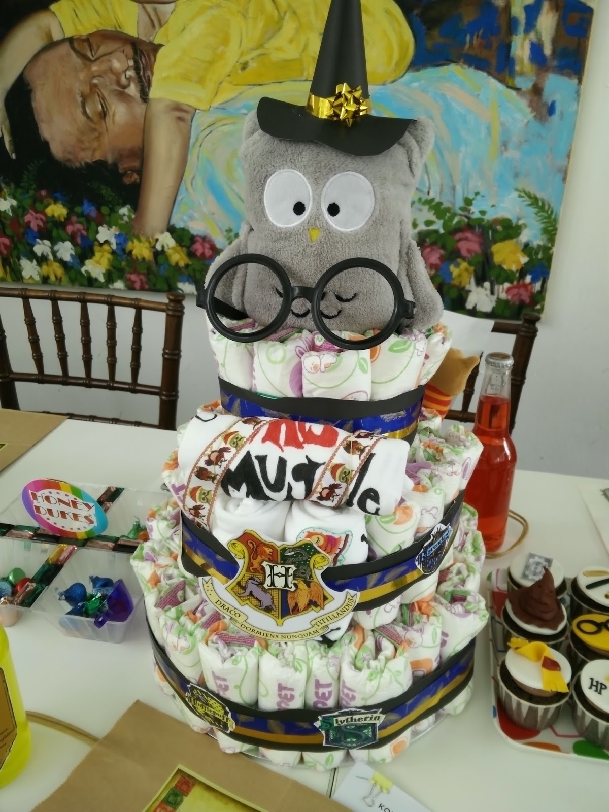 FarRy TaLes Harry Potter Baby Shower D I Y Ideas