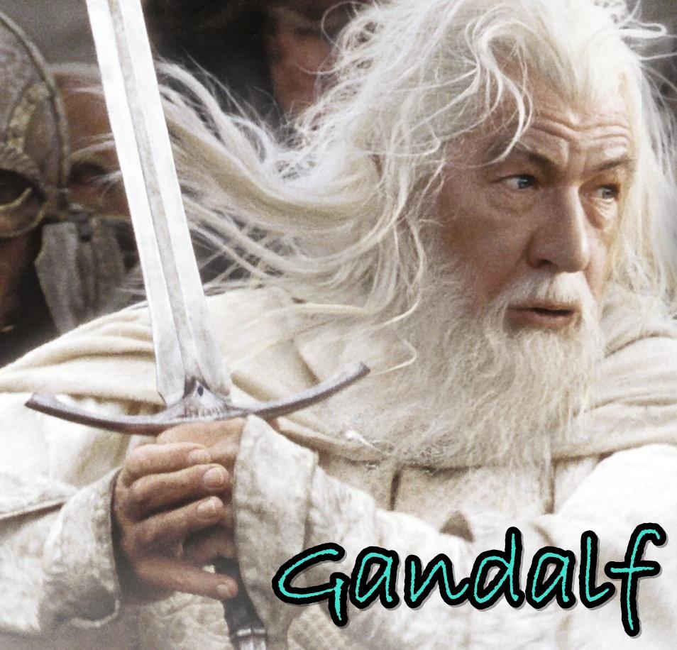 Gandalf o branco o mago amigo de aragorn e frodo