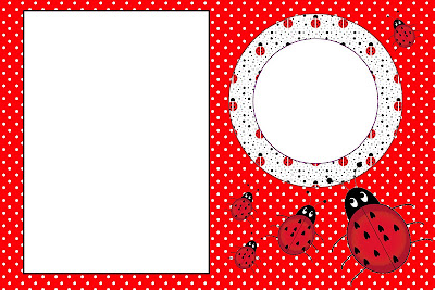 Lovely Ladybugs Free Printable Invitations. | Oh My Fiesta ...