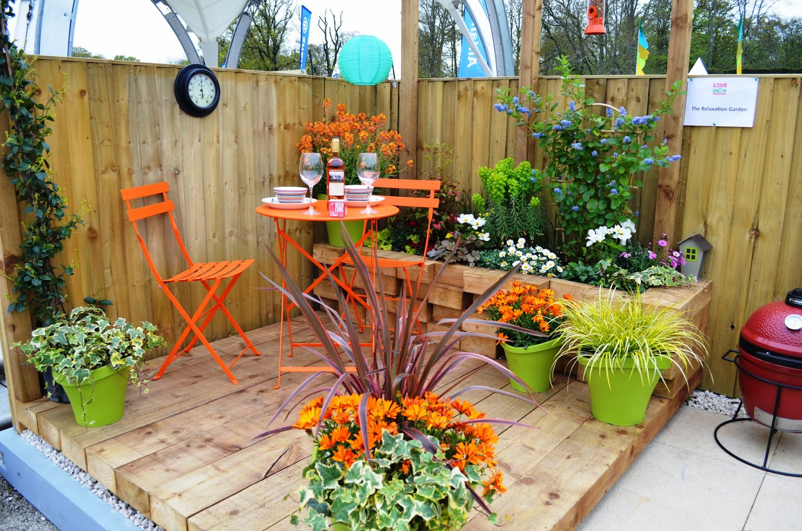 Kelli 39 s northern ireland garden garden show ireland for Inspirational small garden ideas
