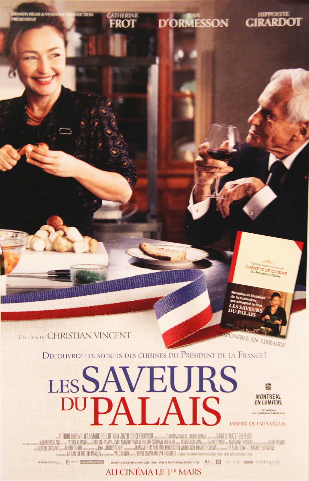 Food for thoughts soir e cin ma les saveurs du palais - Table de capitalisation gazette du palais 2013 ...