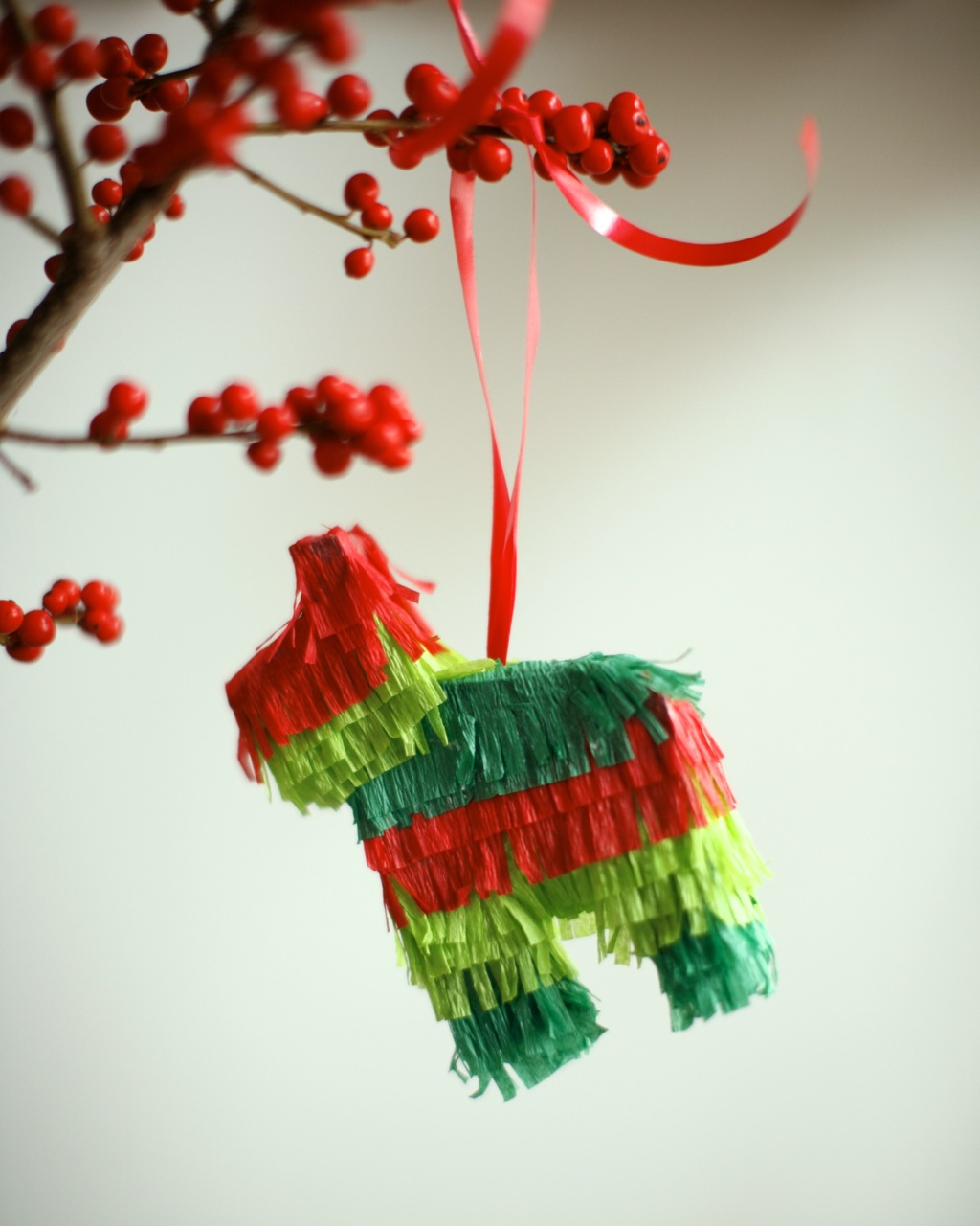 The Little House In The City Diy Pinata Ornament