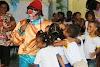Cruz das Almas:Crianças se divertem com Palhaço Bacana