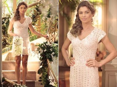 O vestido de Ester. Flor do Caribe
