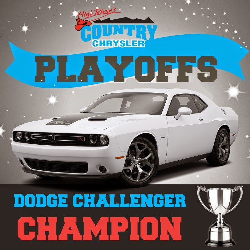 The Country Chrysler Blog: Country Chrysler Playoffs