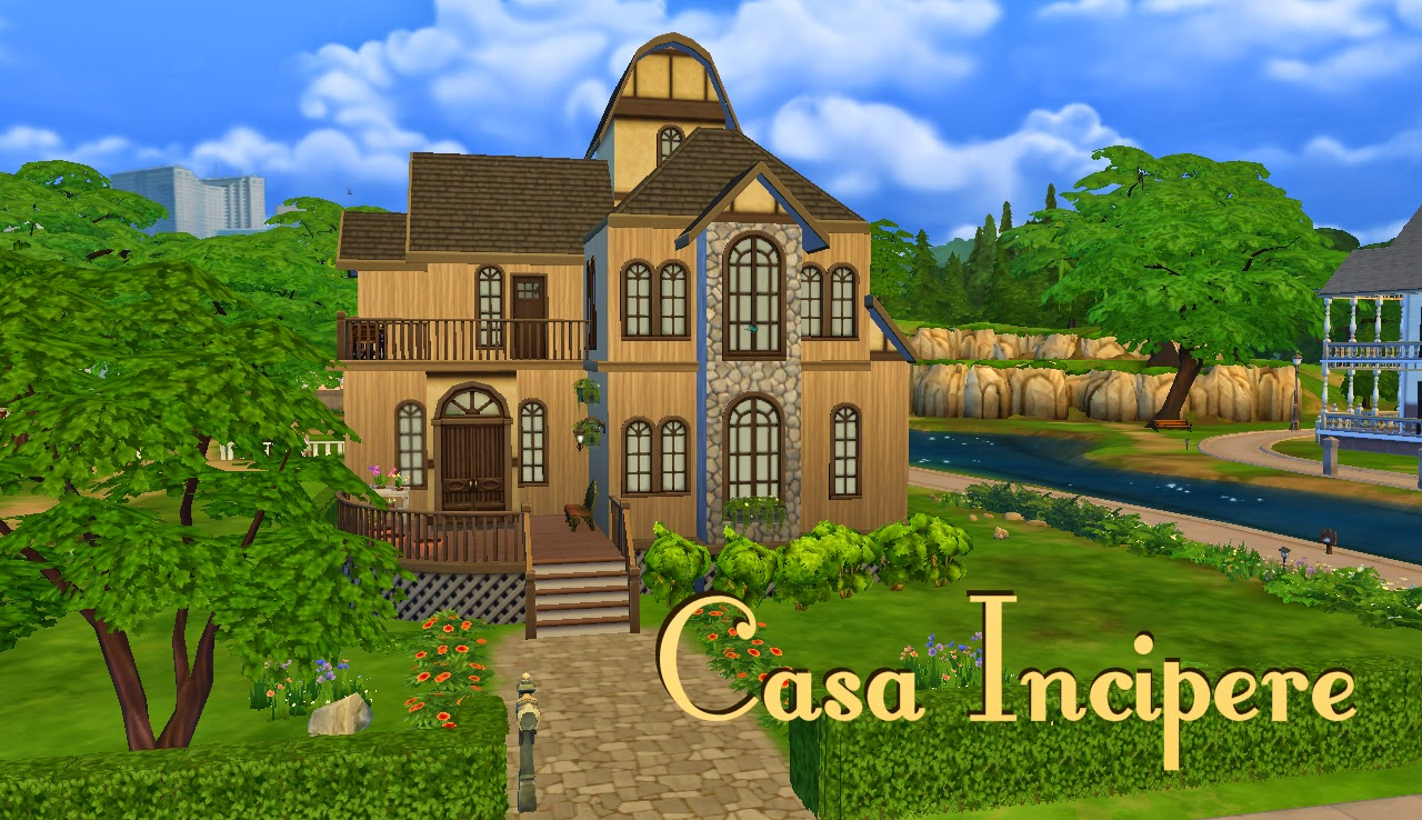 Estilo the sims casa incipere ts4 for Sims 4 piani di casa