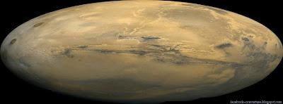 Couverture Facebook de plus grand canyon du système solaire