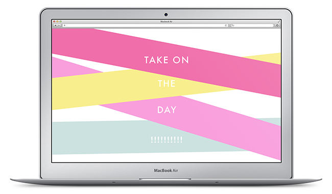 Free Summer Tech Desktop Downloads by Katelyn Wood of Love. Luck. Kisses & Cake