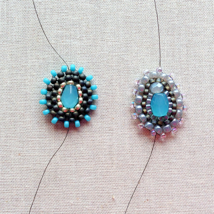 Great DIY make Miguel Ases style beaded components.  Free tutorial.