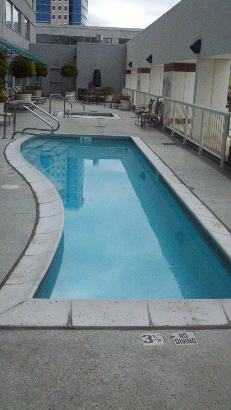 My Triumph Over The Worst Hotel Pool Ever