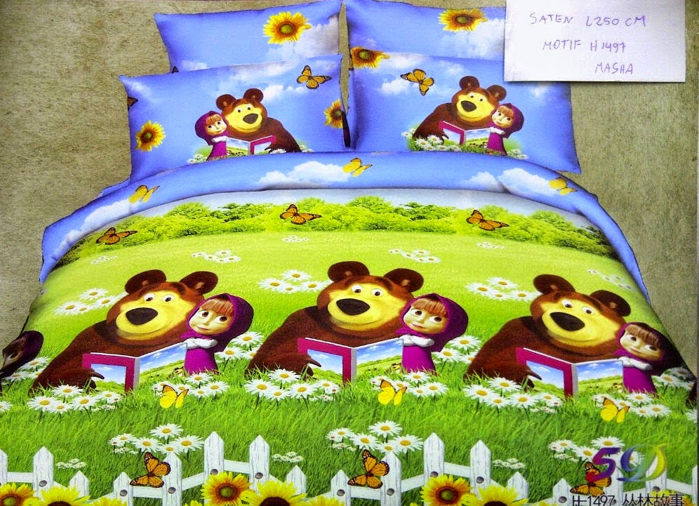 Sprei Masha and The Bear