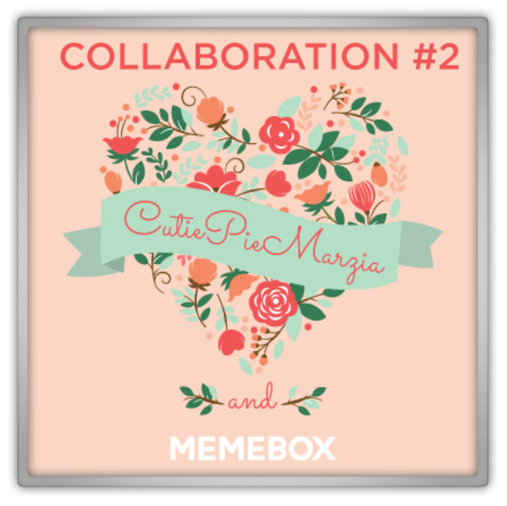 memebox from nature Collaboration Box #2 Memebox X CutiePieMarzia 미미박스 Commercial