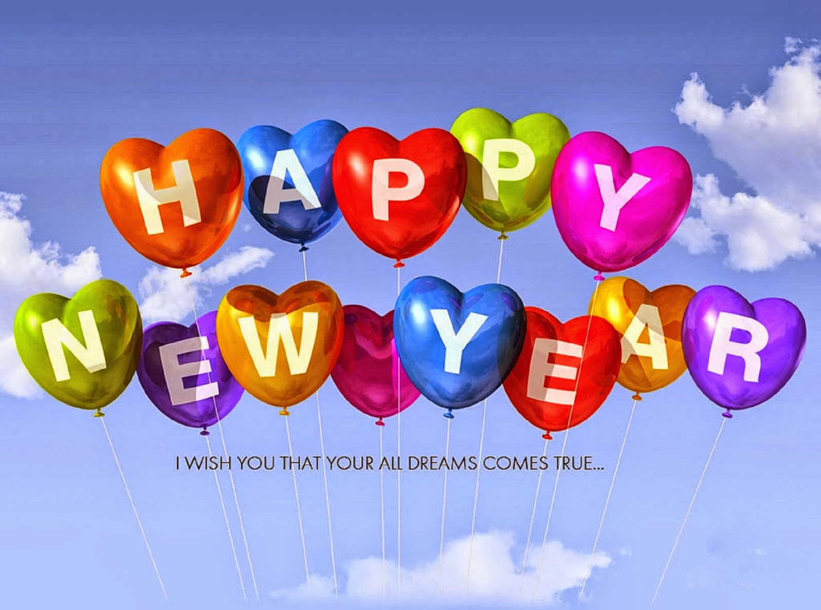 Wish you happy New Year Image wallpaper for whatsapp