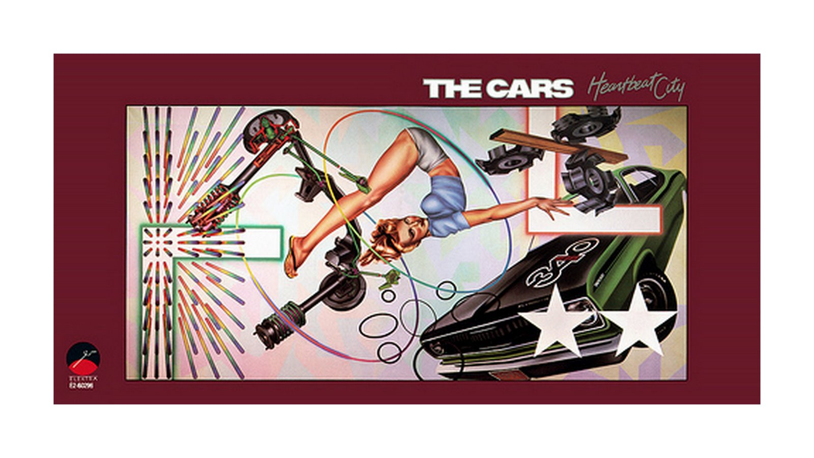 The Cars Heartbeat City Album