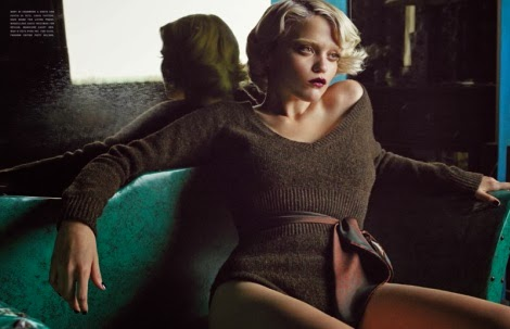 Sky Ferreira by Tom Munro for Vogue Italia October 2013