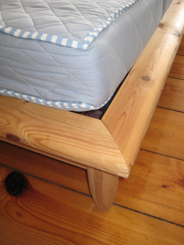 50€ - Estructura de cama doble, de madera - HAGALI | L&G Moving ...