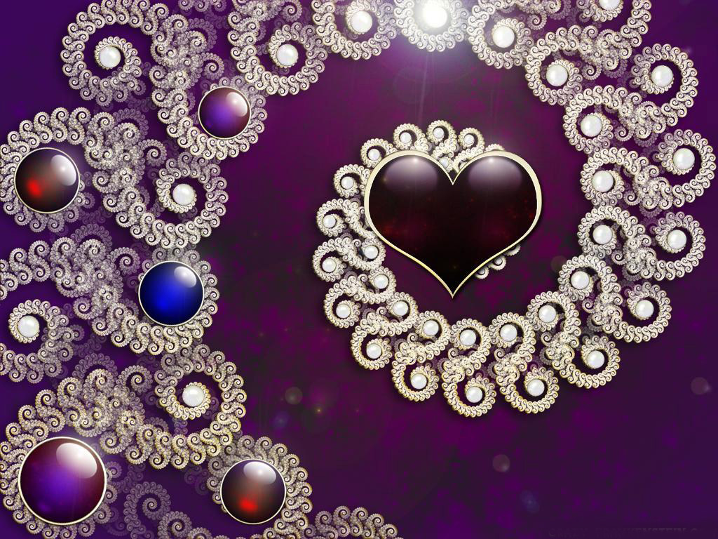 Aimys Collection Wallpapers Images Screensavers Purple Heart