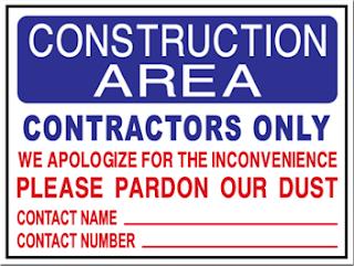 Creative Printing Panama City Florida Construction sign