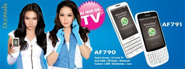 AsiaFone AF790 dan AF791