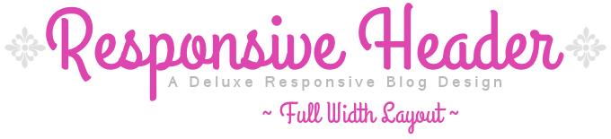 Full Width Deluxe Responsive Blog Sample