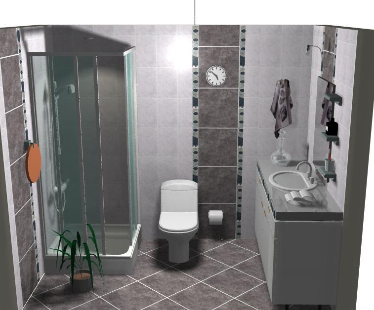 Baño Porcelanato Gris: orion gris y 45×45 pirita gris el suelo pirita gris colocado en rombo