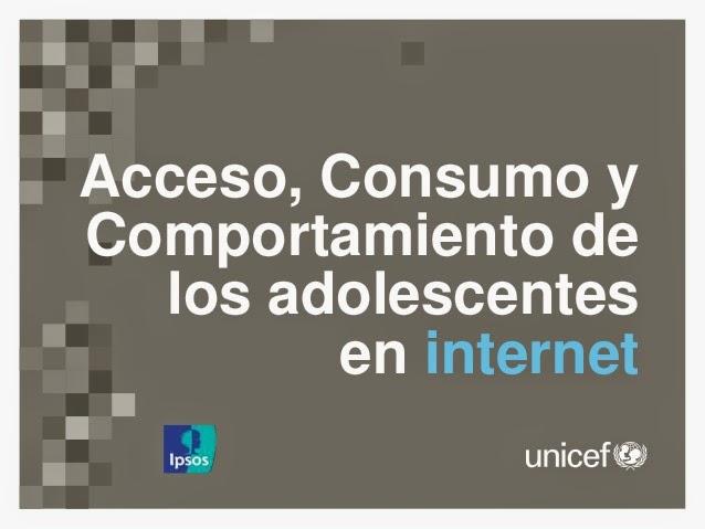 Encuesta Unicef - Adolescentes y consumo digital