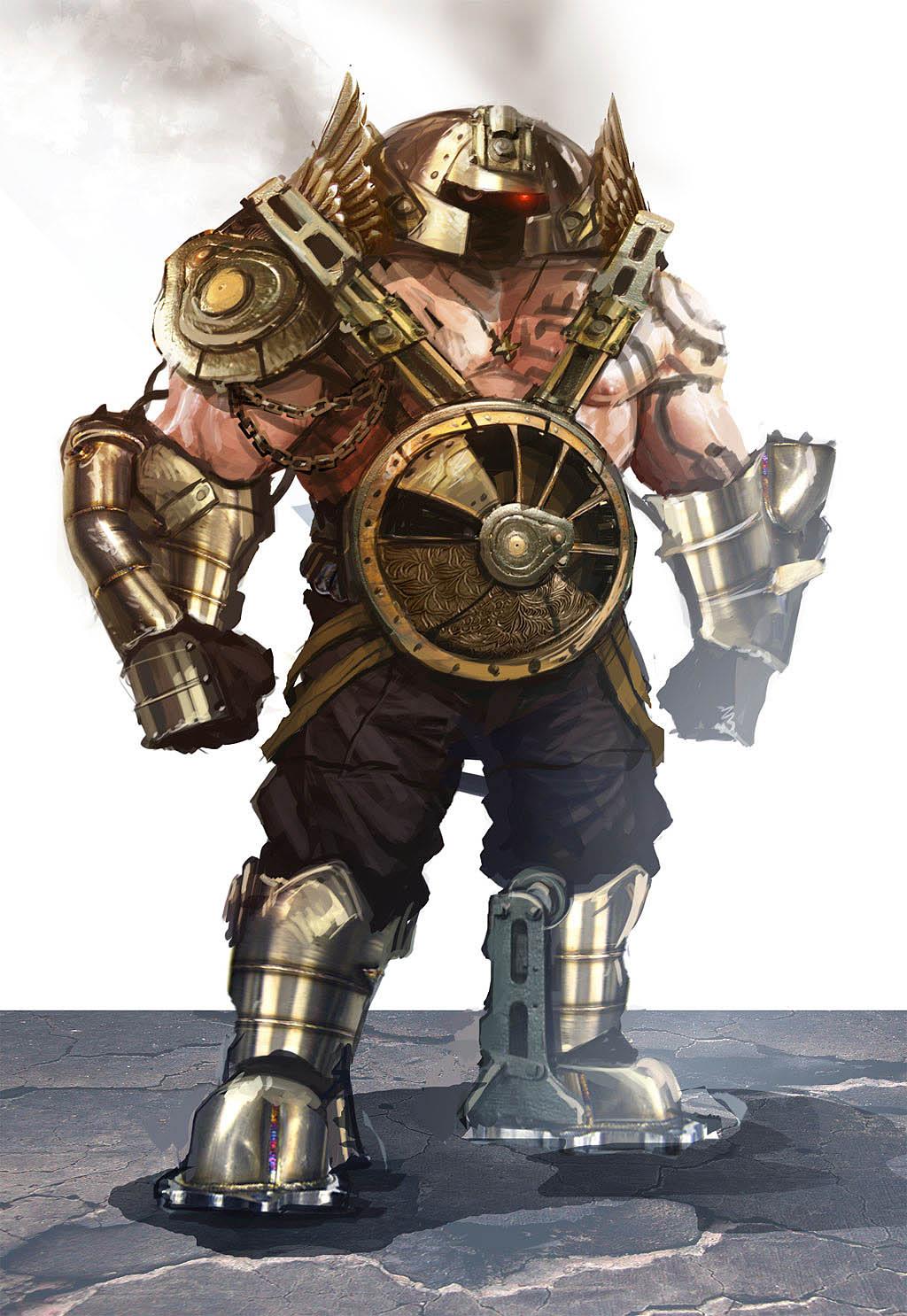 Jarold S Art Blog Steampunk Juggernaut