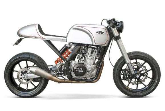 KTM Cafe Racer | KTM 530EXC Cafe Racer