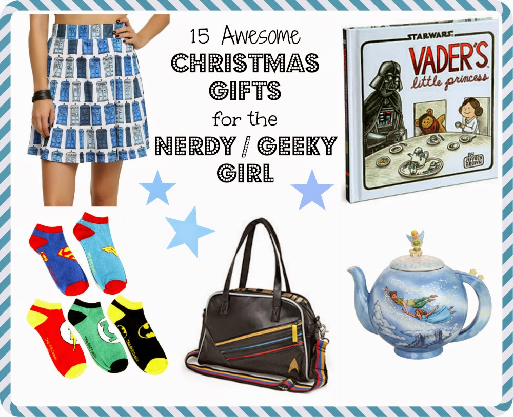 15 Awesome Christmas Gifts for the Nerdy / Geeky Girl under 100 ...