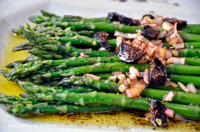 Asparagus with Fig Balsamic Vinegar