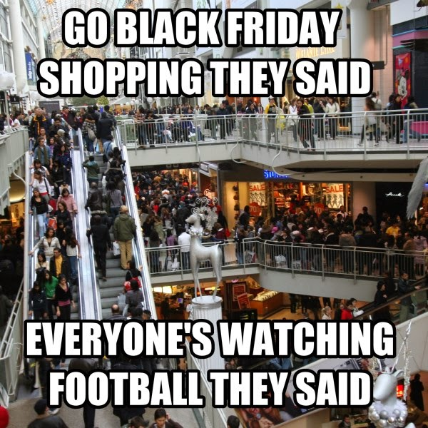 Black Friday Shopping meme