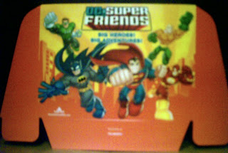 DC Super Friends display header from Random House