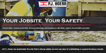 P.J. Hoerr Corporate Jobsite Safety Sign