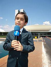 Aluno repórter