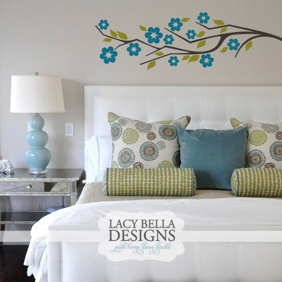 Lacy Bella Designs Blossom Branch Wall Decal