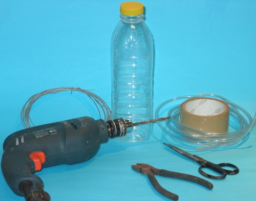 old writer on the block: making a wash bottle, Soft Baits
