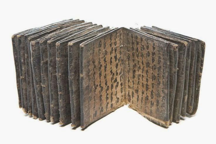 Batak Bark Book - Sumatra