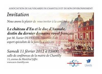 Le château d'Eu et le duc d'AUMALE, destin du dernier domaine royal français par Xavier Dufestel