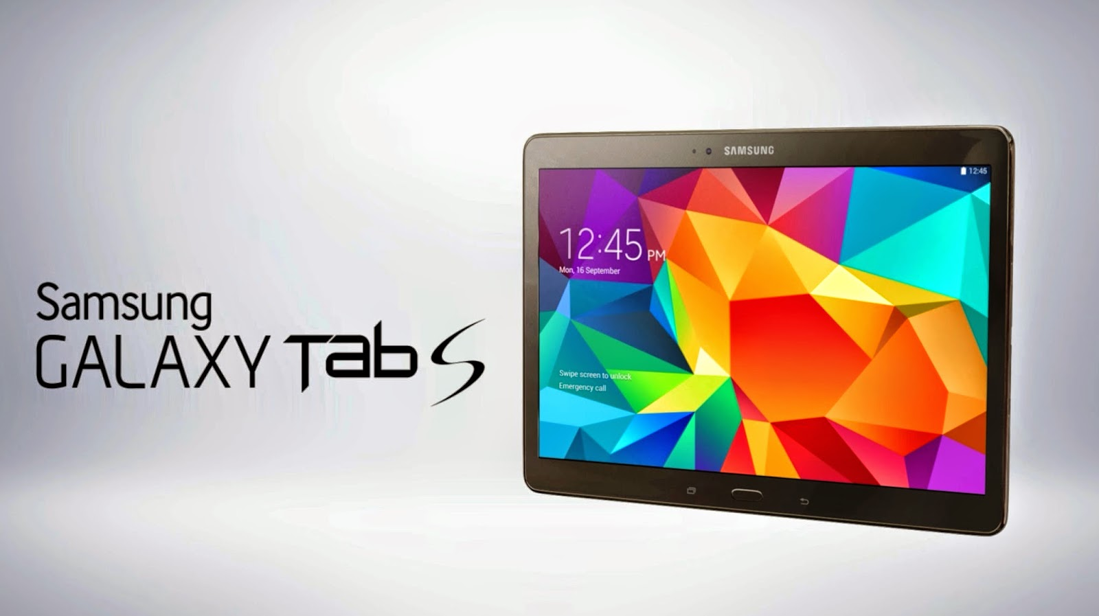 Samsung Galaxy Tab S Features And Specifications