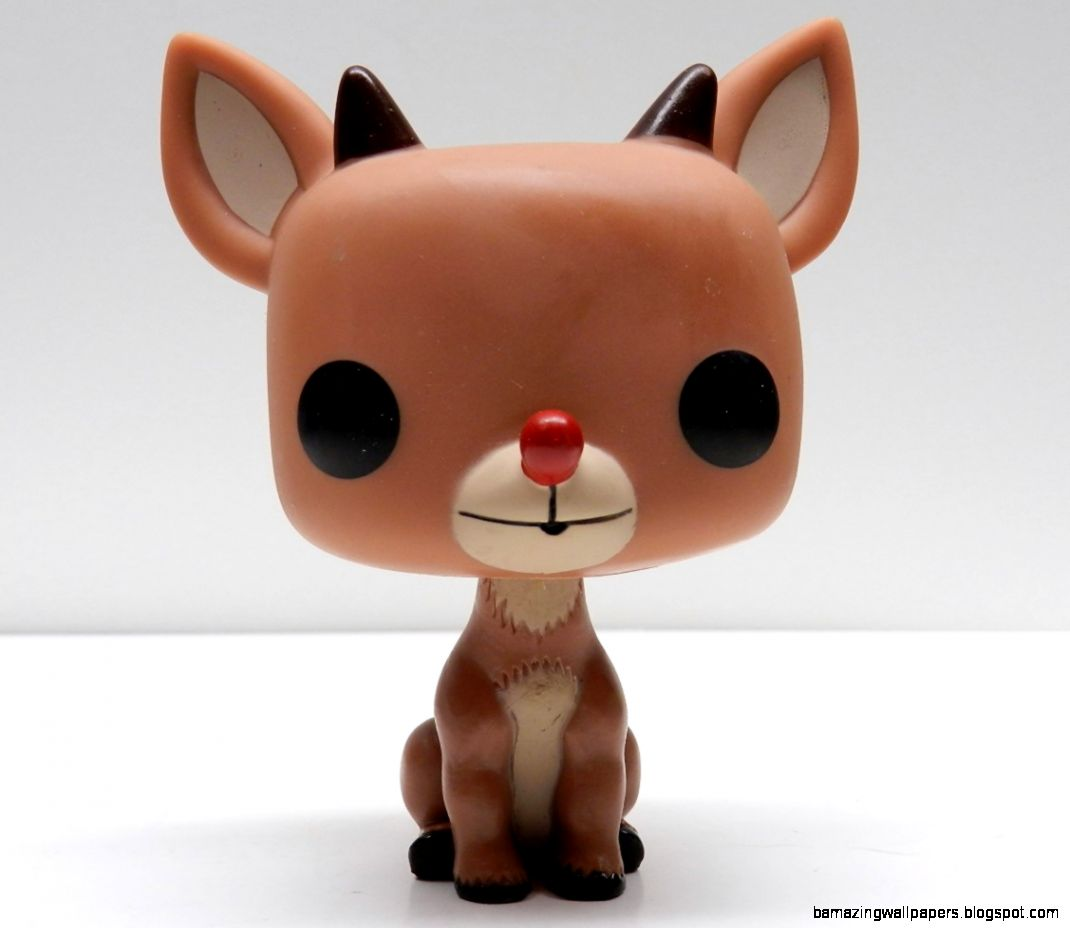 Rudolph The Red Nosed Reindeer Pop Vinyl Figure Review  Infinite